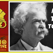 Jaxson as Mark Twain