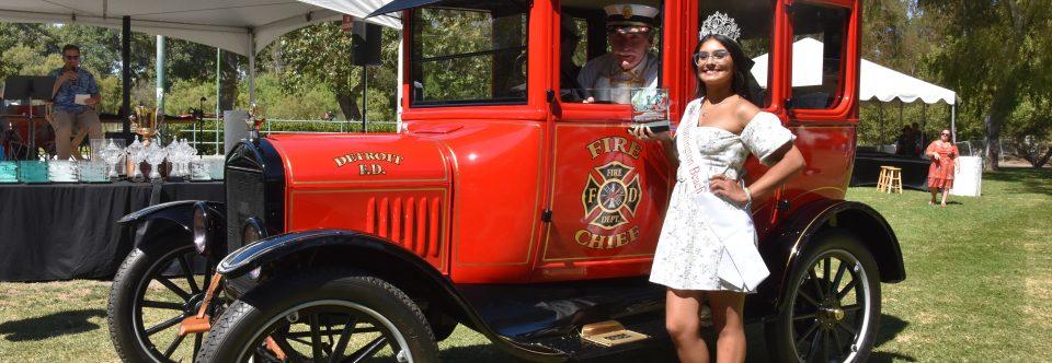 1924 Fire Chief Car